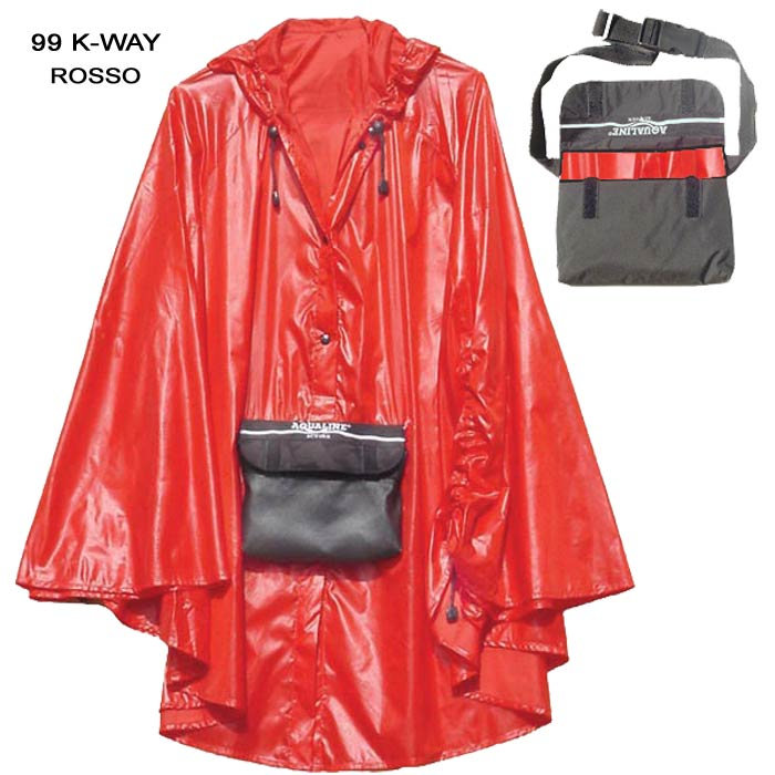 K-WAY ROSSO